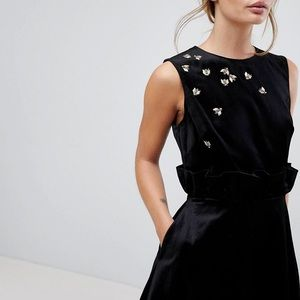 Ted Baker London CELEENA Embellished Bee Dress